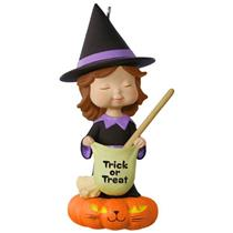 Hallmark Ornament 2017 Sweet Trick-or-Treater Witch - Mary's Angels - #QFO5242