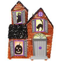 Hallmark Magic Halloween Ornament 2017 Mysterious Manor - Haunted House #QFO5252