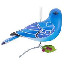 Hallmark Series Ornament 2017 Beauty of Birds #13 - Mountain Bluebird - #QX9355
