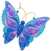 Hallmark Series Ornament 2017 Brilliant Butterflies #1 - #QX9432