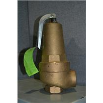 Apollo 10-608-25 Bronze Safety Relief Valve, FNPT Inlet Type, FNPT Outlet Type