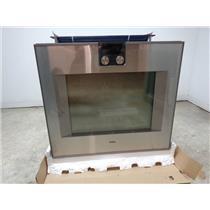 GAGGENAU 400 Series BO480611 30 InchSingle Electric Wall Oven Right Hing Swing