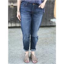 Sz 4/27 Lucky Brand Jeans Sienna Cigarette Distressed Slim Leg Sodalite Wash