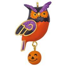 Hallmark Miniature Halloween Ornament 2017 Wee Little Owl - #QFO5262