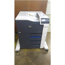HP LASERJET ETNERPRISE M750XH LASER PRINTER WARRANTY REFURBISHED WITH TONERS.