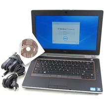 Dell E6420 Core i7 2.7GHz Windows 7 250GB 4GB DDR3 Laptop Adapter WiFi Web Cam
