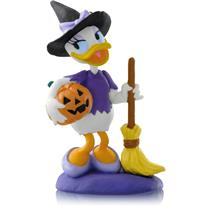 Hallmark Ornament 2014 A Year Of Disney Magic #3 - Bewitching Daisy - QHA1024-DB
