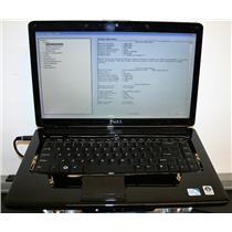 "Dell Inspiron 1545 15.6"" Pentium Dual 2Ghz 2GB 160GB Chrome Webcam Laptop Black"