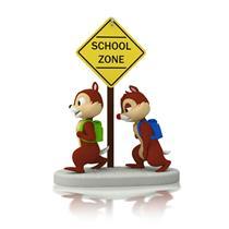 Hallmark Ornament 2014 Year Of Disney Magic #2 School Time for Chipmunks QHA1023
