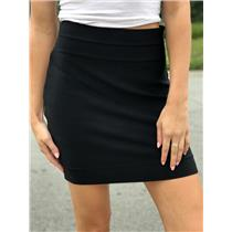 M Authentic Herve Leger Charlotte Classic Bandage Stretch Pencil Stretch Skirt
