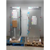 "GAGGENAU Vario 400 RF463703/RC472701 54"" Integrated Freezer Refrigerator Collums"