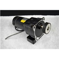 Baldor Industrial Motor GPP12547, 42 RPM, 1/8 HP, 90 VDC w/Belt Gear Head