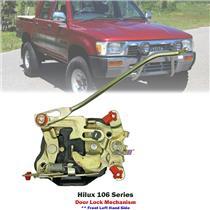 Front Left LHS Door Lock Mechanism For Toyota Hilux LN106 1989-97 69320-89119