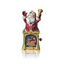 Hallmark Series Ornament 2014 Santa Certified #2 - Santa in a Box - #QX9006-SDB