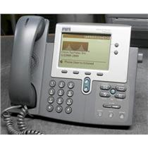 Cisco CP-7940G-SIP ASTERISK Ready 7940G Two Button VoIP PoE Phone HandSet