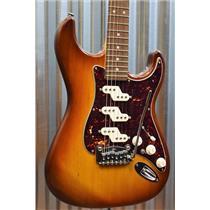 G&L Guitars USA Custom COMANCHE Tobacco Sunburst Old School Guitar & Case #7045