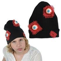 Eyeballs Knit Beanie Hat