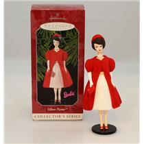 Hallmark Ornament 1998 Barbie Nostalgic Series #5 - Silken Flame - #QXI4043