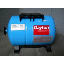 DAYTON 5.3 gal. Water Tank, Horizontal, Precharged Type, 3GVT4