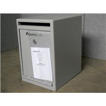SENTRY SAFE Cash Depository Safe, 0.39 cu. ft., 29 lb., Gray