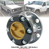 1x 29 Spline Zinc Alloy Wheeling Locking Hubs For Nissan Patrol MQ MK 160 80-94
