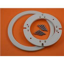 Dometic Sealand 385310140 Bone Universal Flange Mounting Kit (2 bolt to 4 bolt)