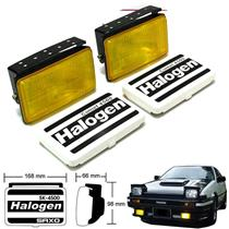 1 pair SAXO Comet Series 4500 Yellow Lens Driving Spot Lights Fog Lamp 12V