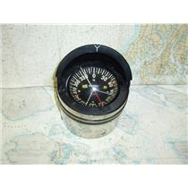 """Boaters' Resale Shop of TX 1708 1725.01 GALAXY AQUA METER 5"""" COMPASS IN COVER"""