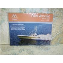 Boaters' Resale Shop of TX 1708 1254.11 MAPTECH CHART KIT FLORIDA W.COAST & KEYS