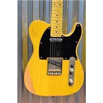 Vintage Guitars Icon V52MR Distressed Butterscotch Tele Guitar & Case