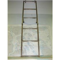 Boaters' Resale Shop of TX 1708 2051.05 FIVE STEP STAINLESS STEEL SWIM LADDER