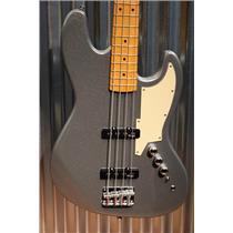 Stagg SBJ-50 Custom 4 String Jazz Bass GT Metallic Grey & Case