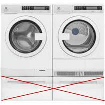 NIB Electrolux EIED200QSW / EIFLS20QSW Front Load Washer and Dryer White