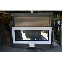 "Heat and Glow, Cosmo 42"" Natural Gas Fireplace, Tonic Face, TN-SLR-GY 25,000 BTU"
