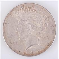 1923 US Peace Silver Dollar 1$ Circulated Condition 26.7g