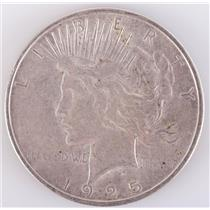 1925 US Peace Silver Dollar 1$ Circulated Condition 26.7g