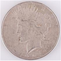 1927 US Peace Silver Dollar 1$ Circulated Condition 26.7g