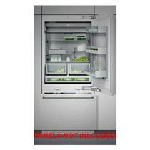 "GAGGENAU RB472701 30"" Fully Integrated Bottom-Freezer Refrigerator Descriptions"