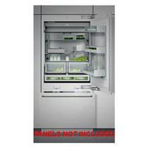 "GAGGENAU RB472701 30"" Fully Integrated Bottom-Freezer Refrigerator Images"