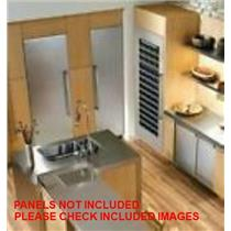 """Thermador 42"""" Built-In Led Refrigerator / Freezer T24IR800SP / T18ID800LP"""