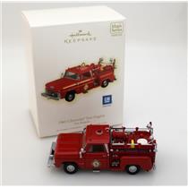 Hallmark Magic Ornament 2009 Fire Brigade #7 - 1965 Chevrolet Fire Engine QX8612