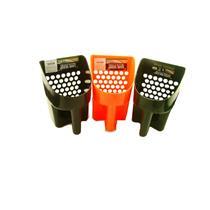 Black-Orange-Green Plastic Metal Detector Scoops-Sand-Beach-Treasure Gold Ring