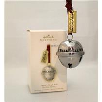 Hallmark Ornament 2009 Santa's Sleigh Bell - The Polar Express - #QXI1042