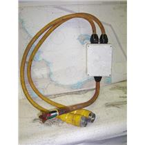 Boaters' Resale Shop of TX 1709 1477.04 HUBBELL 50A 125/250V SHOREPOWER ASSEMBLY