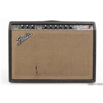 1966 Fender Deluxe Reverb Blackface Vintage Guitar Amp Owned by Matt Hyde #30203