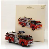 Hallmark Series Ornament 2007 Fire Brigade #5 - 1988 Ford C8000 - #QX2607-SDB
