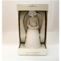 Hallmark Exclusive 2007 Joy to the World Angel Bell - Porcelain - #XRC4566