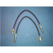 Chevrolet Oldsmobile brake hose set also Buick  Pontiac 1966-1974 USA 2 hoses