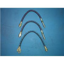 Brake hose Buick Chevrolet Oldsmobile - front & rear all 3 hoses 1969-1973 USA