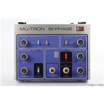 Mu-Tron Bi-Phase Phaser Effect Pedal w/ Footswitch & Manual Biphase #30387
